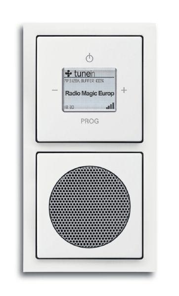 Busch-Jaeger 8240-84 Wlan-Radio Komplettset Audio / Multimedia | elektroland24.de Schalter Steckdosen Shop