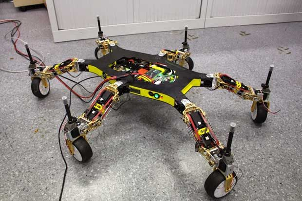 Creadapt: How to Make a Robot That Cannot Be Stopped - IEEE Spectrum