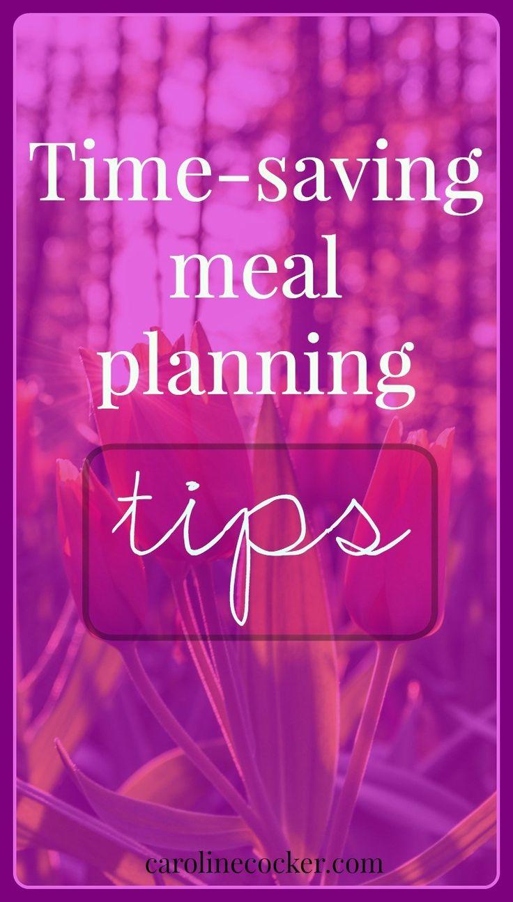 Time-saving meal planningprep tips | Caroline Cocker - Saving money