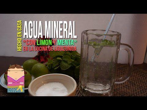 Agua mineral de lim n con menta youtube v deos de - Youtube videos de cocina ...