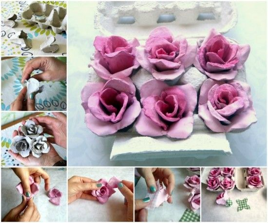 You will love this Egg Carton Roses Tutorial and they will come in so handy for all your favorite projects. Check out the details now.