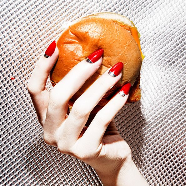 28 best food photography images on pinterest junk food ongles its nice that amy lombard pairs up with a nail artist for a glorious and prinsesfo Image collections