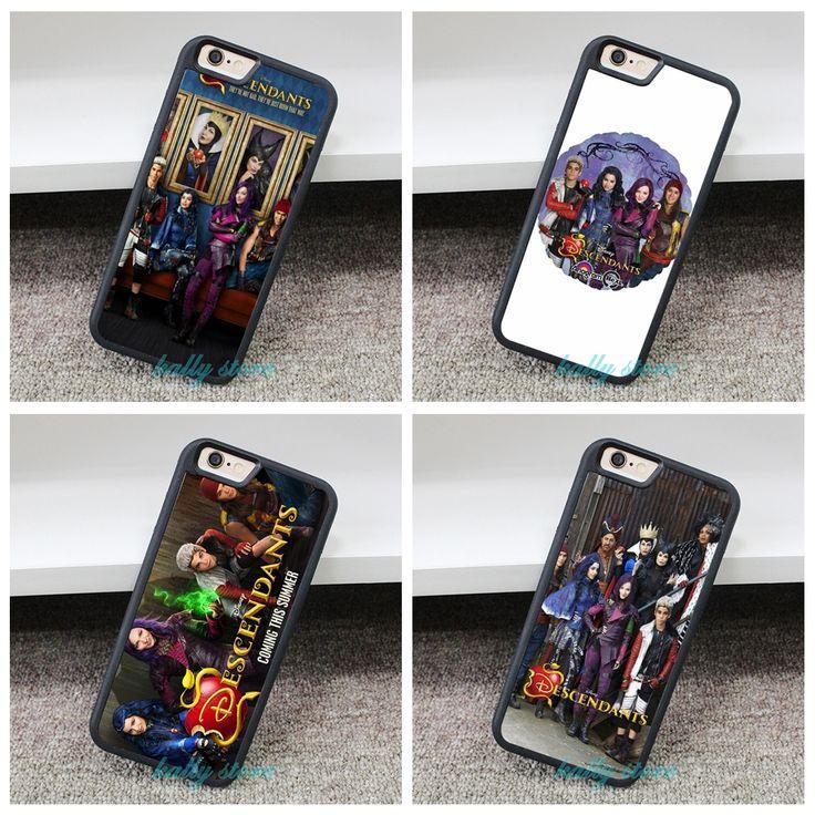 Descendants TV Show D2 fashion phone Cover Case for iphone 4 4S 5 5S 5C SE 6 6s 6 plus 6s plus 7 7pus #ZA127 #Affiliate