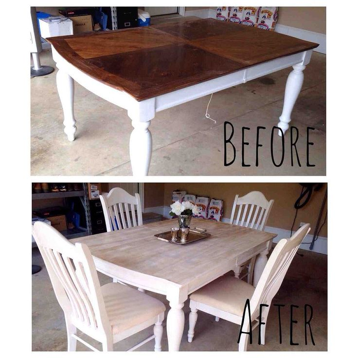 Diy Painting Kitchen Table And Chairs: Painting Staining Kitchen Table, Painted Furniture