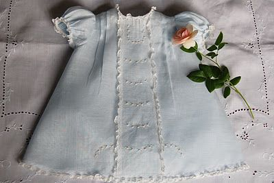 Beautiful baby dress by OFB. Have the pattern.