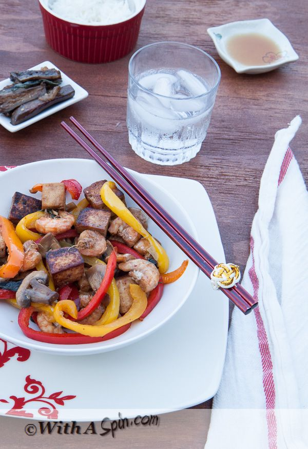 Healthy Stir fry   With A Spin