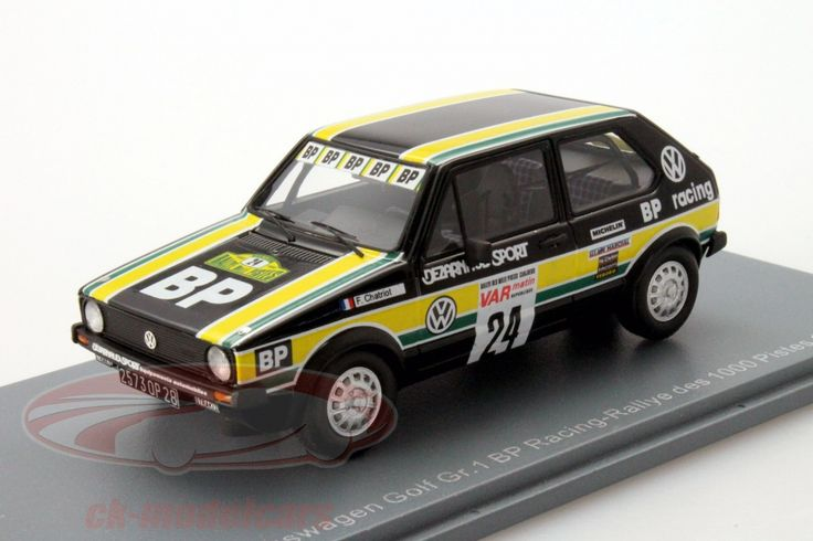Volkswagen VW Golf Gr.1, Rally of 1000 Pistes 1980, No.24, F.Chatriot, BP Racing Team. Neo, 1/43. Price (2016): 70 EUR.