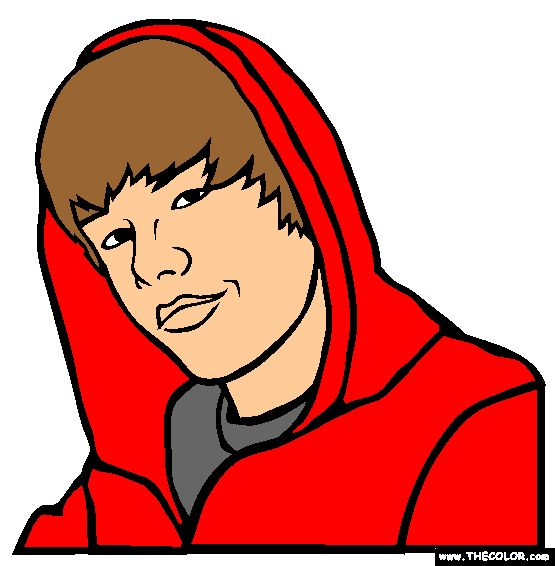 justin bieber coloring page httpwwwthecolorcomcoloring