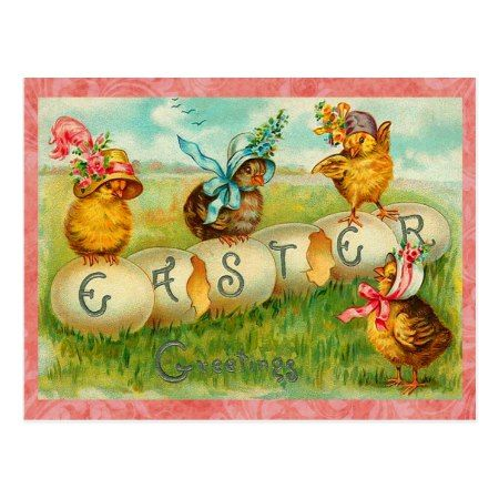Vintage Easter Eggs Postcard - click to get yours right now!