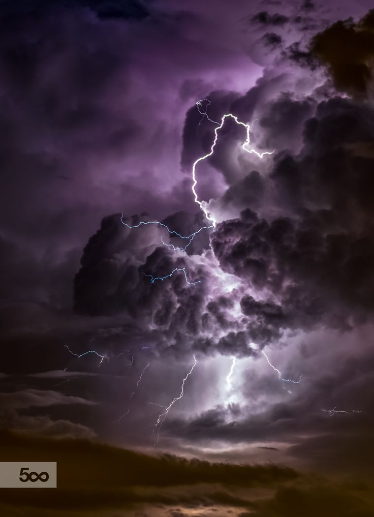 Photo Dancing Lightning by Ami on 500px