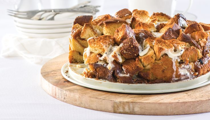 Now you can have chocolate for breakfast with our decadent Chocolate Almond Bread Pudding. #LindtTheSeason