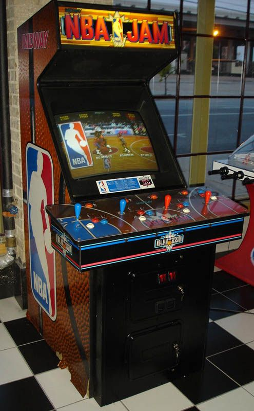 NBA Jam.  The greatest arcade game of all-time.  Yes Jam > Pac Man even if they didn't put Shaq in it