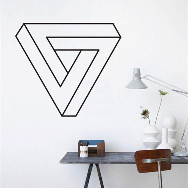 17 melhores ideias sobre decalques de parede de vinil no for Decalque mural