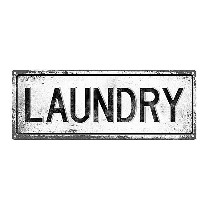 Amazon Com Laundry Metal Street Sign Vintage Retro Gateway