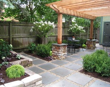 I like the ledgestone foundations for the sun roof - Landscape Design Ideas, Pictures, Remodel and Decor