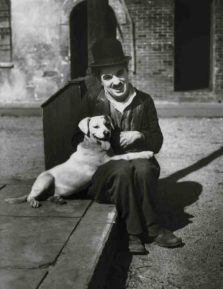 hearts sunglasses Charlie Chaplin  1918  A DOG  S LIFE was promoted as Chaplin  s   first million dollar picture   and presented as a major milestone in his career  It co starred Scraps  played by a mixed breed dog called Mutt  as his loyal companion