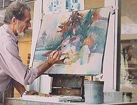 11 best images about robert e wood on pinterest painting for Aquarelliste chinois
