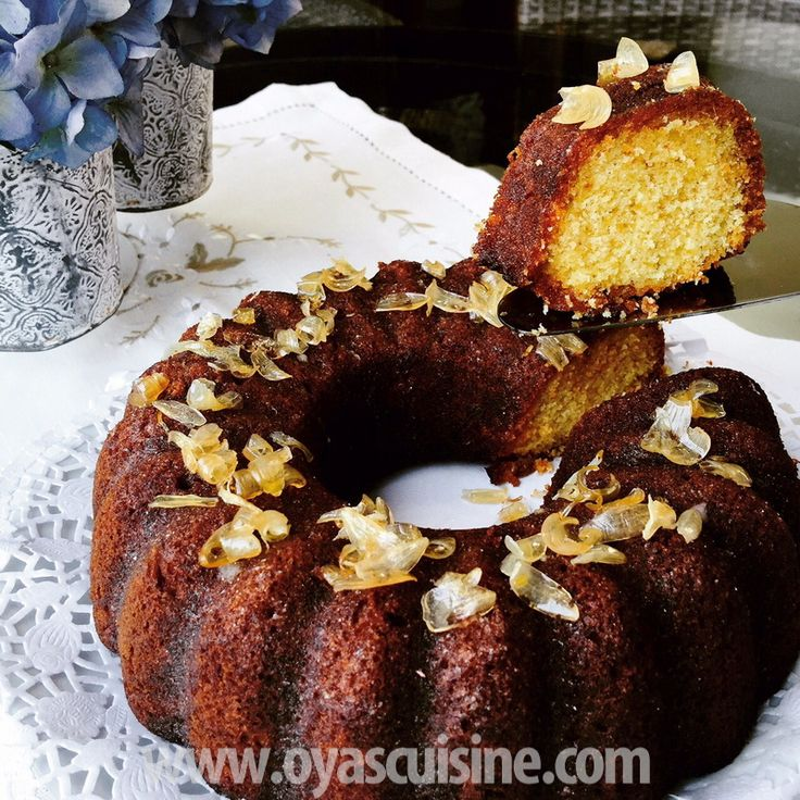 Oya's Cuisine - Limon Soslu Alman Kek