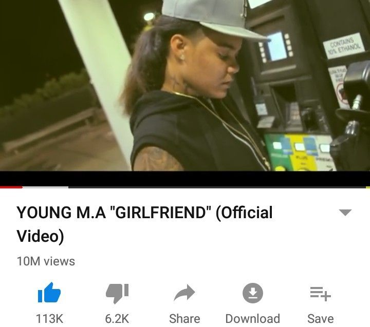 Young M A Girlfriend Official Video Young Ma Girlfriends Music Songs
