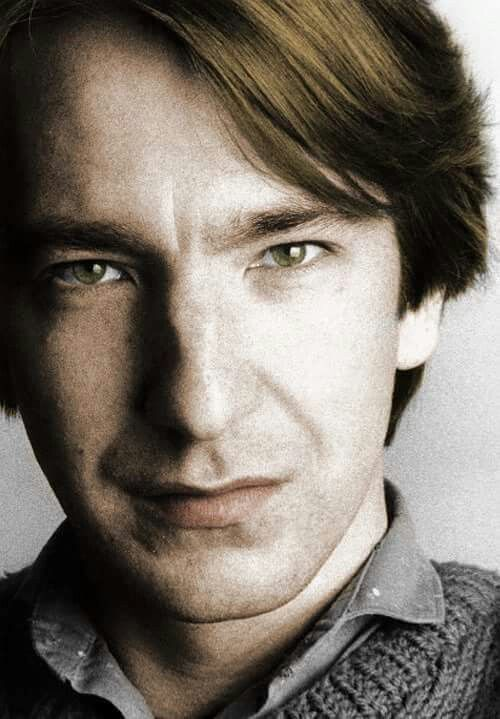 "1984 - Alan Rickman - professional photo from the ""Hulton Archive."""