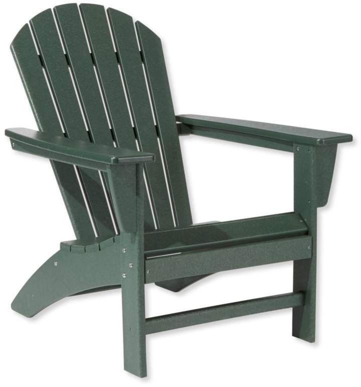 All Weather Waterfall Adirondack Chair Outdoor Chairs Outdoor