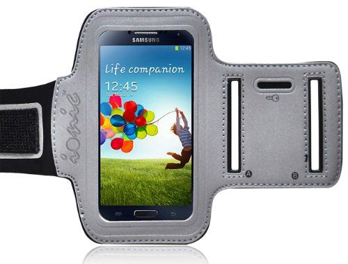 Ionic ACTIVE Sport Armband Case for Samsung Galaxy S4 S 4 SIV / New Samsung Galaxy S4 2013 Model (AT