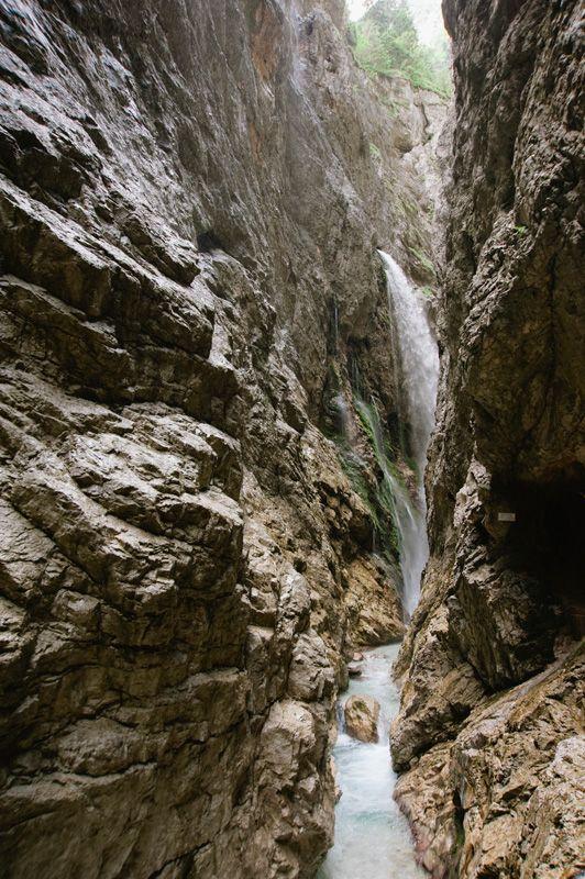 Hoellentalklamm Waterfall