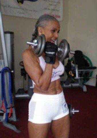 Ernestine Shepherd, in her late 70s!! Amazing!!!