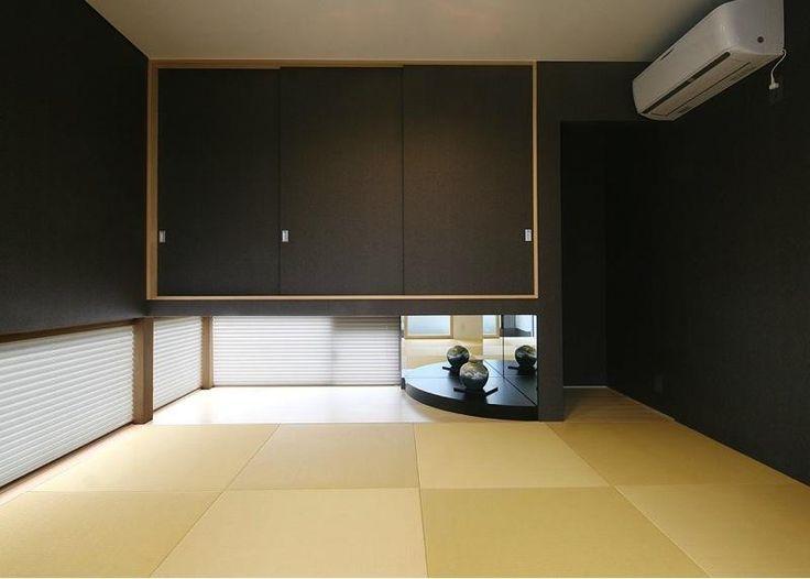 和モダンな和室(『A1-House』シンプルモダンなバリアフリー住宅) - その他事例|SUVACO(スバコ)