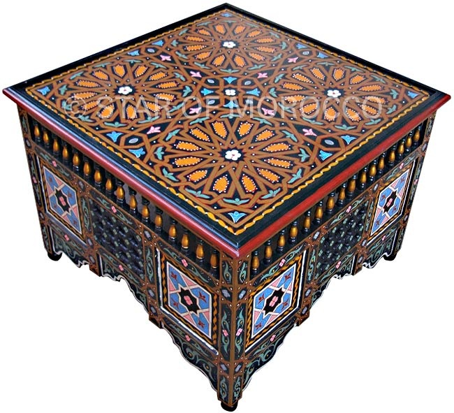 moorish style furniture. moroccan coffee table moorish style furniture