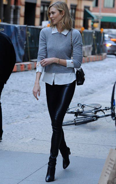 Luxe #LookforLess: How to get Karlie Kloss'  preppy sweater look for a total steal