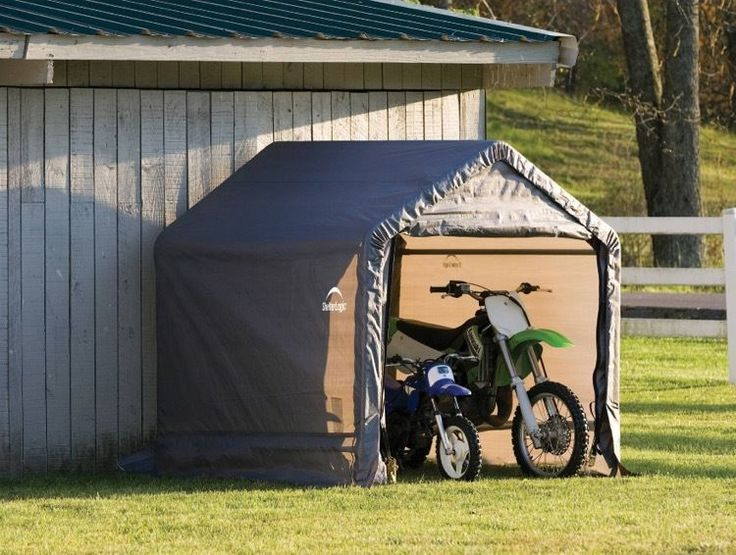 Portable Motorcycle Garage : Ideas about motorbike shed on pinterest motorcycle
