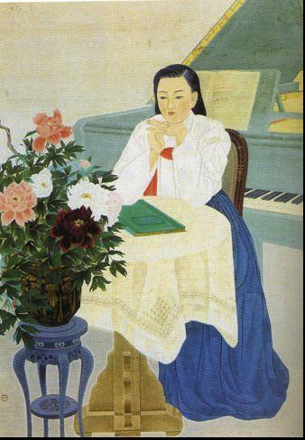 "Yi Yu-tae, ""Harmony"" 1940s"