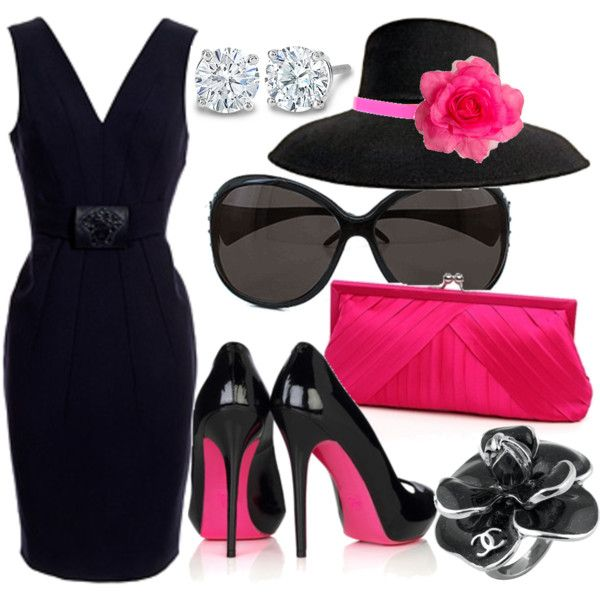 The Pink Lady, created by jnifr on Polyvore