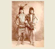 1887 Black Elk PHOTO Buffalo Bill Wild West Show, Crazy Horse Cousin!! Lakota