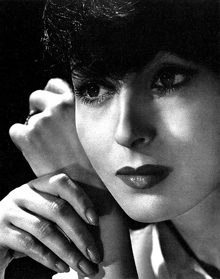 Austrian-American actress Luise Rainer, in a publicity photo from 1936.