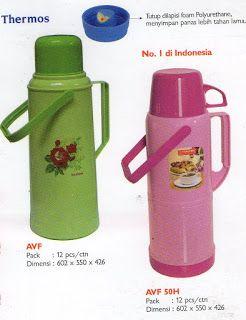 Selatan Jaya distributor barang plastik Surabaya: Thermos air panas AVF merk Kaisha.