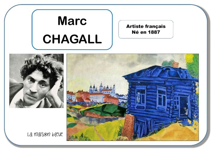 Marc Chagall - Portrait d'artiste