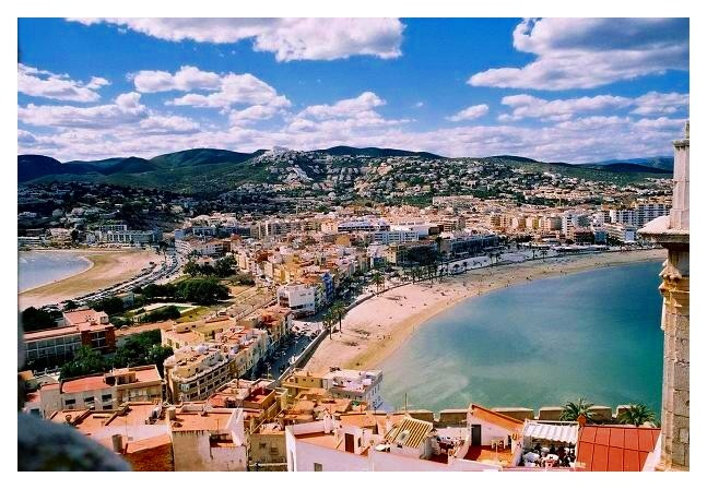 Town on the Coast of Spain