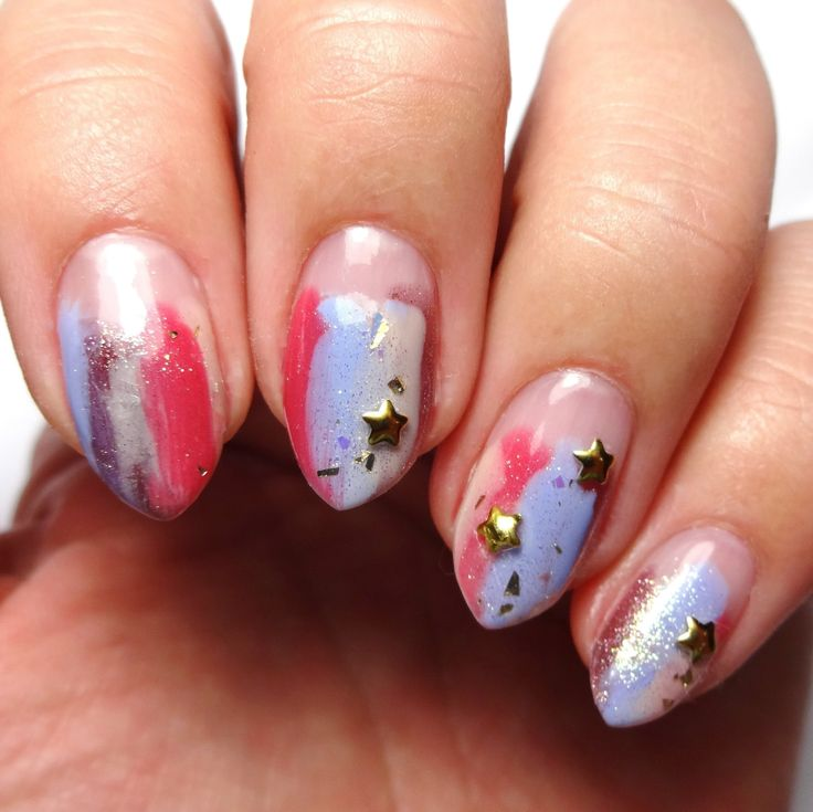 Abstract allure in 2020 creative nail designs nail art