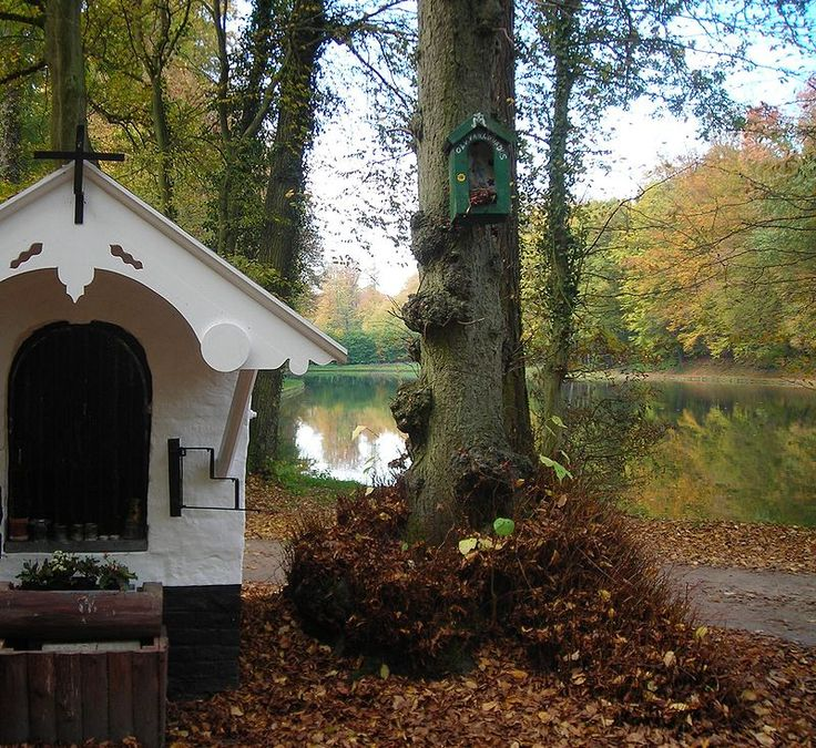 HAH Storyline: Chapel near Groenendael Priory, Sonian Forest, outside Brussels. Eve was to meet an MI6 agent at the priory, October 1917