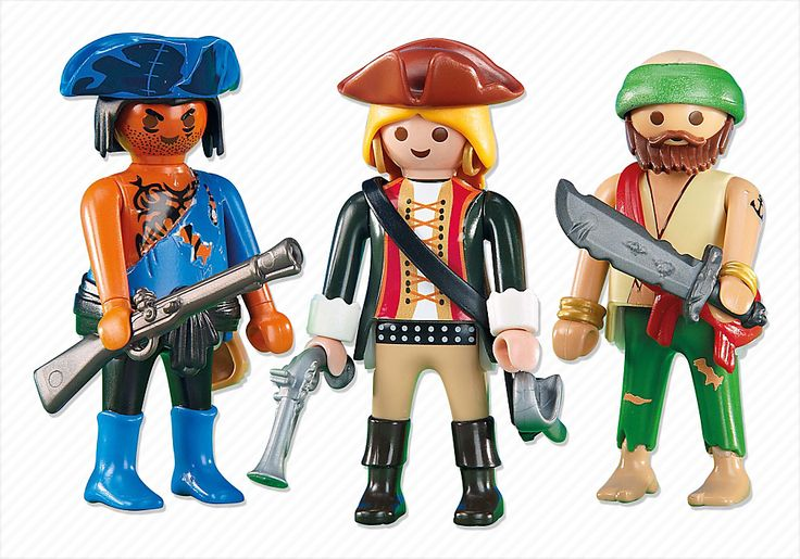 Pirate Crew - PM USA PLAYMOBIL® USA