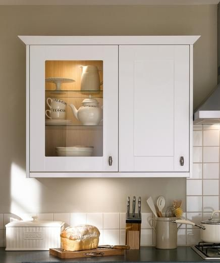Full Height Wall Cabinet Kitchen