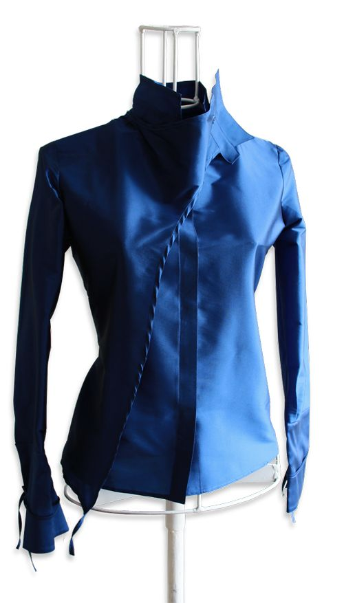 Креативные блузки Ken Okada (подборка) / Блузки / ВТОРАЯ УЛИЦА