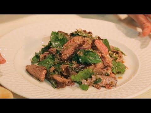 90 best thai food recipes images on pinterest thai food recipes nam tok spicy beef salad w mint hot thai kitchen forumfinder Gallery