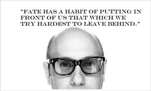 Fato temos o hábito de colocar diante de nós o que nós é mais difícil de deixar para trás...White Collar