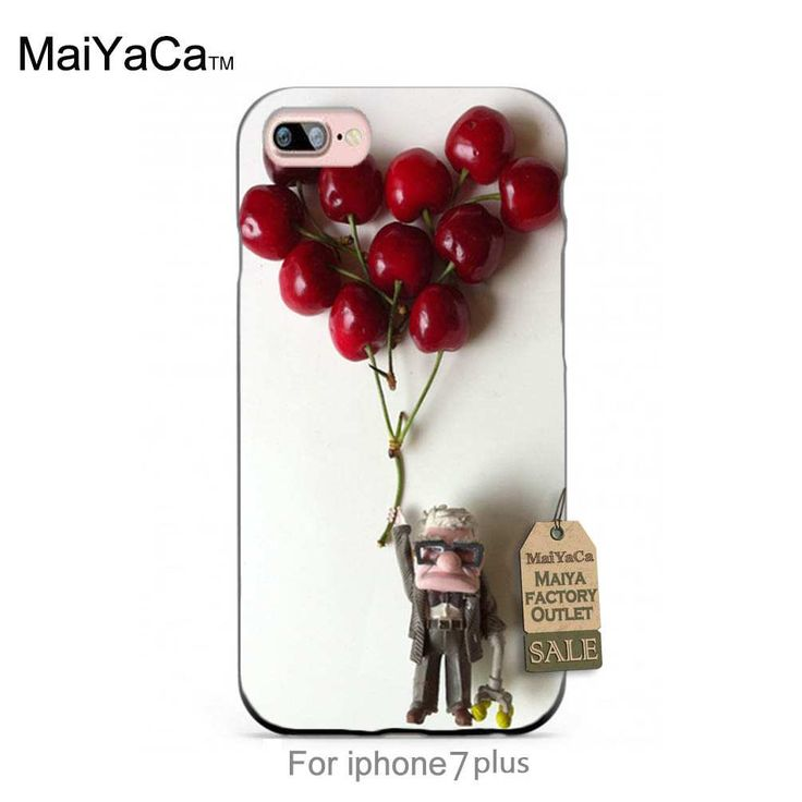 Up Pixar toys love heart Luxury Fashion 3D phone case For case iPhone 7 plus