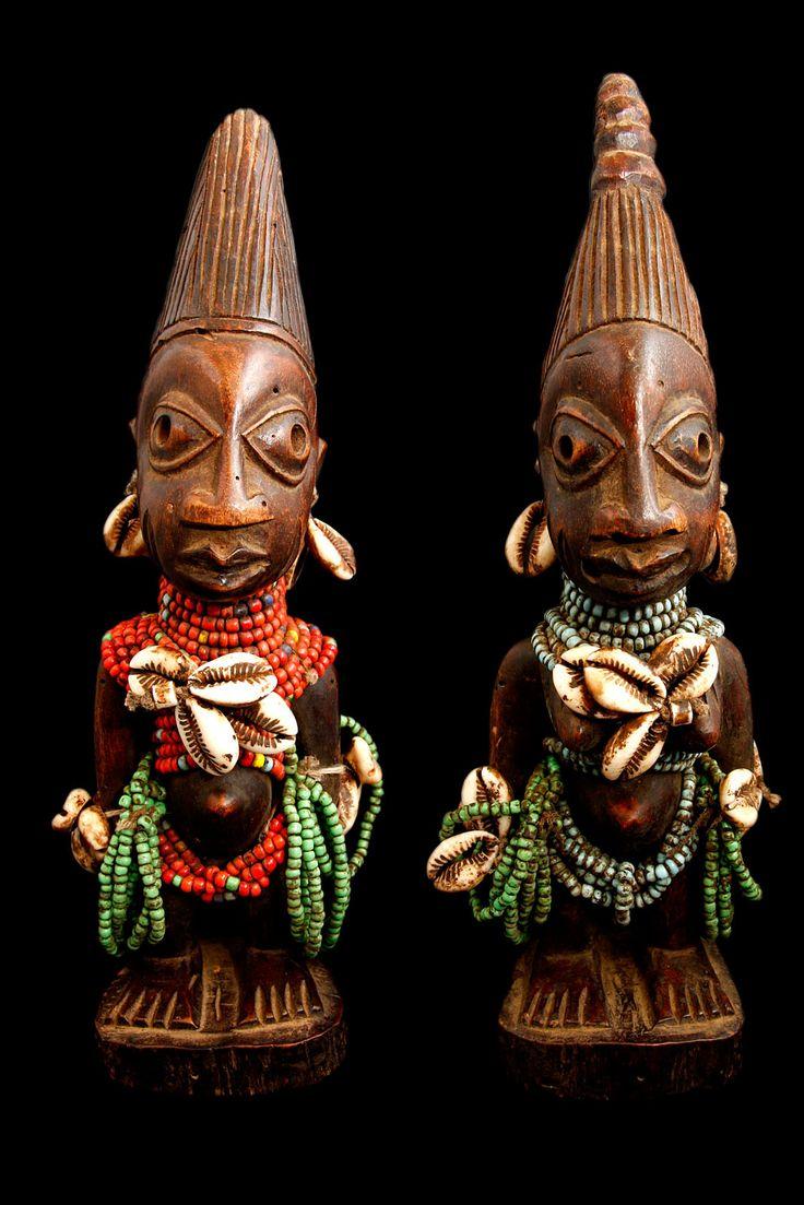 Ibeji Figures. Yoruba Tribe. The Yoruba are a major ... Yoruba Tribe Twins