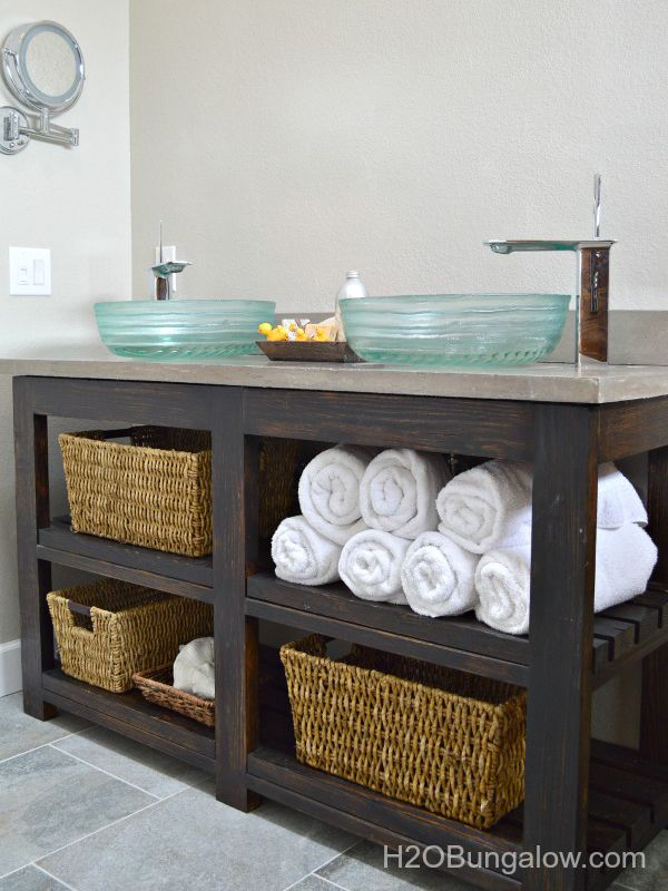 Superbe 7 DIY Bathroom Vanities You Can Make Before The Guests Arrive U003eu003e Http:/