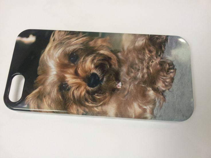 Cover iphone personalizzata con la foto del proprio cane. Bellissima